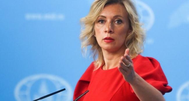 Захарова поздно опомнилась, заявив, что не говорила об оккупации Украины, россияне на радостях массово распространили видео