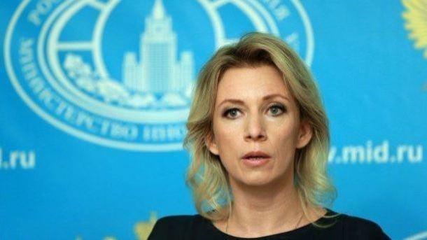 Пропагандистка Захарова нашла единственную фразу, чтобы прокомментировать ультиматум ЕС и США