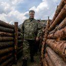 Ветеран АТО: во время Минска-1 и ожидания наступления русских на Мариуполь Порошенко не спрятался в Киеве, он был в зоне АТО