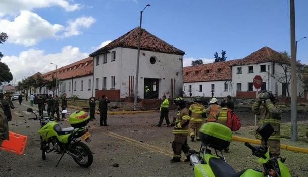 В Колумбии в результате взрыва погибли восемь полицейских