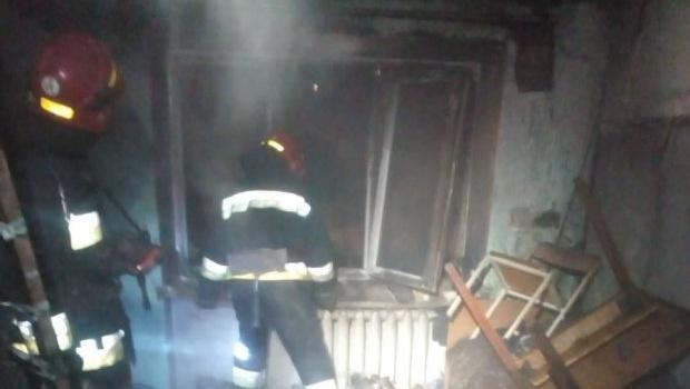 В Виннице горело общежитие колледжа. Есть пострадавшие