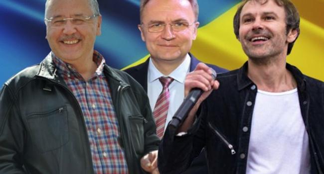 Андрей Длигач: Вакарчук снял интригу, теперь ждем 15 февраля заявление от Гриценко и Садового