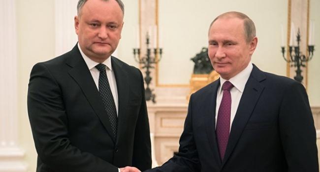 В Кремле открыто заявили, что, если граждане Молдовы не поддержат Додона, то будут есть свои перцы и пить свое вино сами