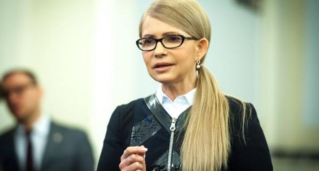Нусс: декларация Тимошенко выглядит, как явка с повинной к НАПК и НАБУ о незаконных доходах