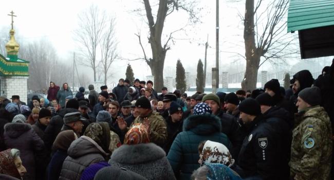 Полиция побила настоятеля храма УПЦ МП на Тернопольщине