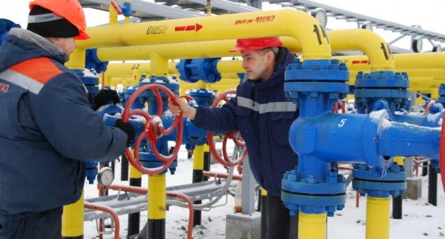 Всего 34%: в Украине рекордно сократились запасы газа
