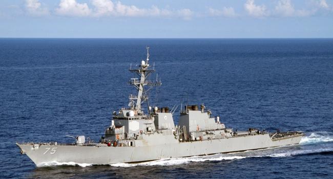 Путин приказал непрерывно следить за направляющимся в Одессу эсминцем Donald Cook