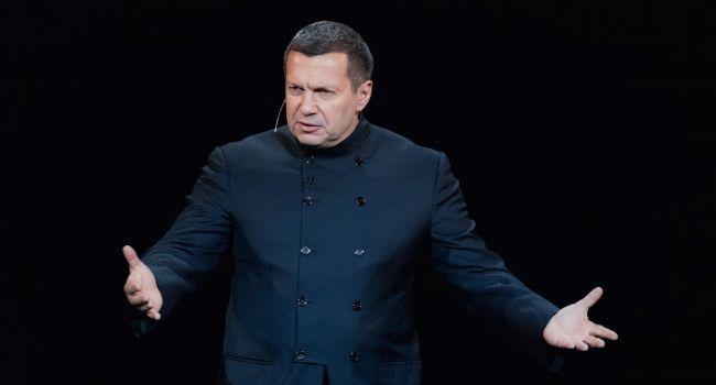 Соловьев публично обозвал украинцев и намекнул на захват Россией Украины