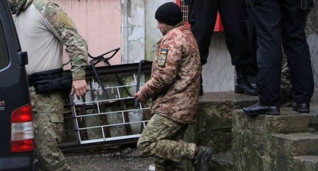 Пленных украинских моряков отправили на психиатрическую экспертизу – росСМИ