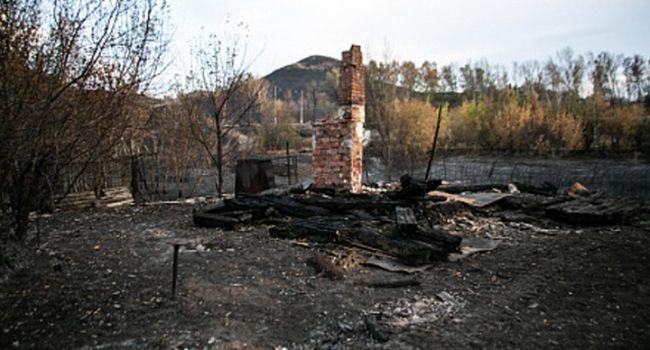 «Красная жара»: боевики применили тактику «выжженной земли» на Донбассе