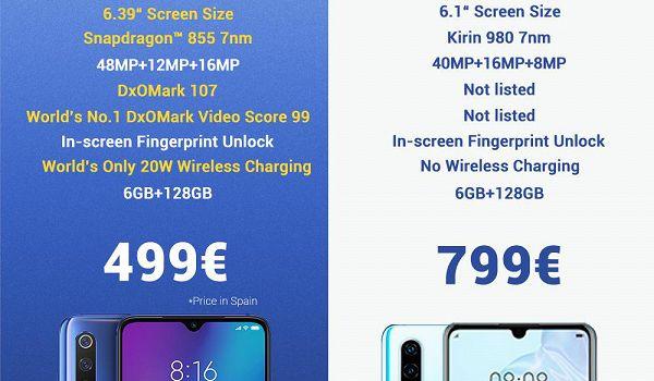 Представители Xiaomi потроллили одну из флагманских моделей Huawei