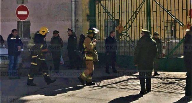 СМИ обнародовали взрыв Военно-космической академии в Санкт-Петербурге