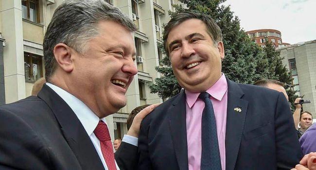 У Петра Порошенко нет алкогольной зависимости — Саакашвили