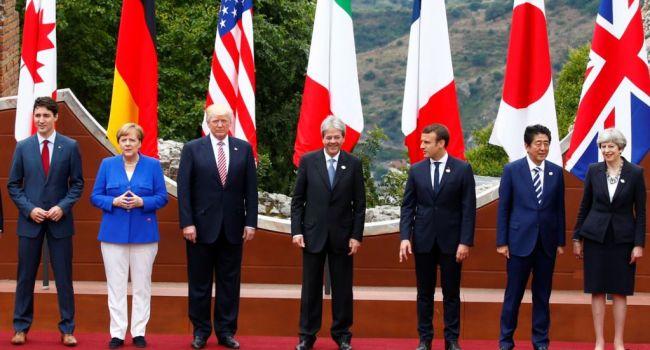 Очередной ультиматум Путину: в G7 жестко прошлись по Москве и пригрозили усилением противостояния