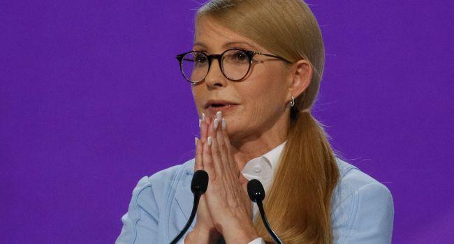 Тимошенко рассказала, кого из кандидатов она поддерживает, и предложила помощь «новому президенту»
