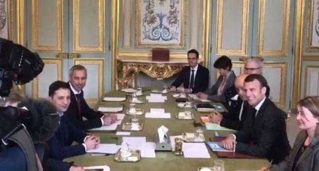 СМИ Франции рассказали о встрече Зеленского и Макрона