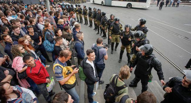 «Настоящие оборотни»: в Питере Росгвардия жестко избила активистов