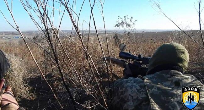 Снайперы из «Азова» вынесли из Донбасса российских наемников вперед ногами