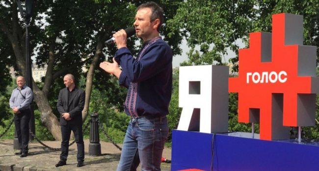 Рейтинг партии Вакарчука стремительно растёт