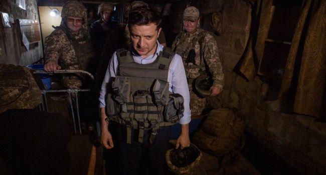 «Мирные инициативы» от Зеленского: на луганском направлении уже дана команда не открывать огонь в ответ