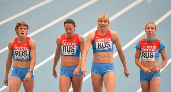 «Вот это попандос! Позор!»: легкоатлетов из РФ дисквалифицируют одного за другим