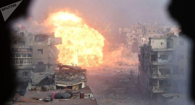 Очередной «нож в спину» Путина: на складе боеприпасов у Дамаска прогремел мощнейший взрыв