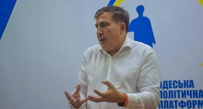 Саакашвили снова приехал в Одессу, собирает людей