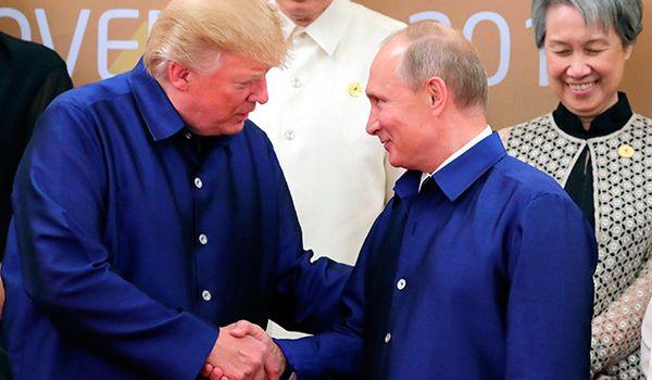 «Это не ваше дело!»: Трамп надеется провести с Путиным «хороший разговор»