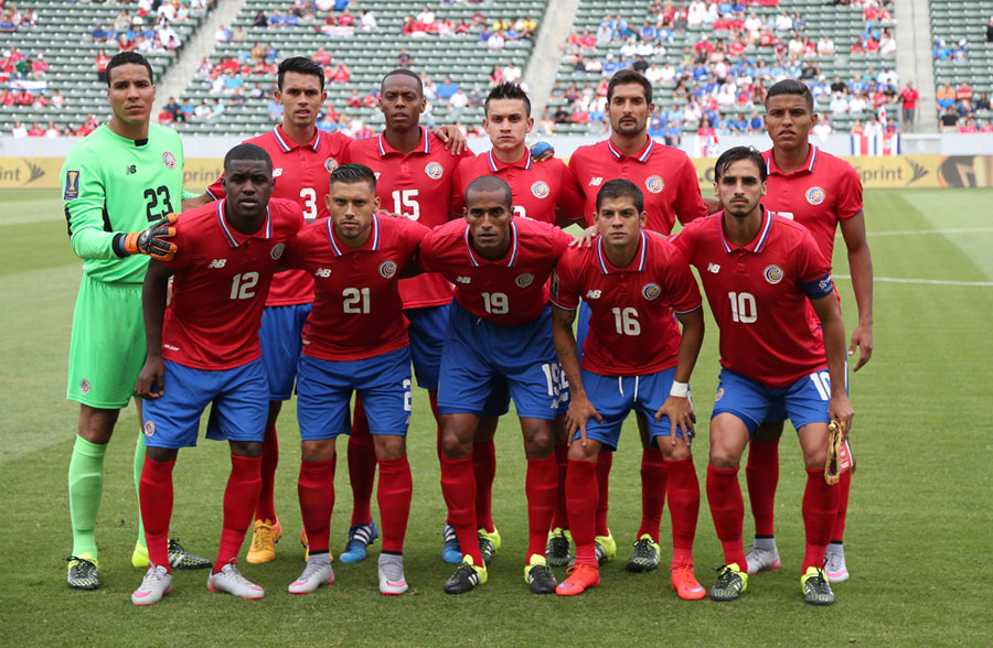 Сборная Коста-Рики заметно усложнила выход в полуфинал кубка КОНКАКАФ