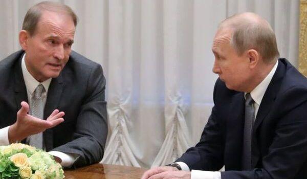 «Крым – это Украина»: Медведчук рассказал о разговоре с Путиным