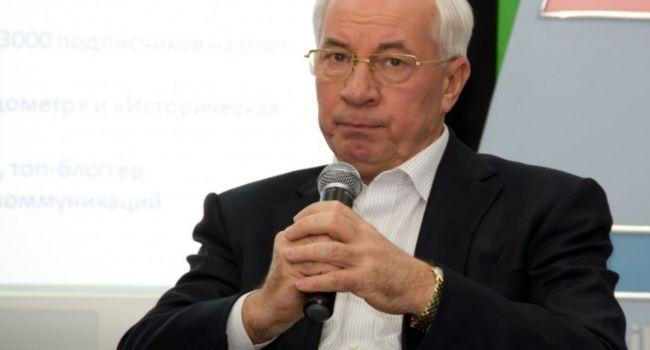 «Принцип бумеранга никто не отменял»: Азаров жёстко прокомментировал нападение на Порошенко