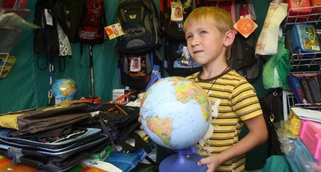 Чтобы собрать ребенка в школу, родителям в этом году придется выложить не менее 3,5 тысячи гривен