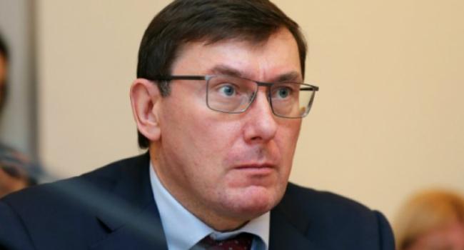 Луценко о задержании Грымчака: «Стыдно за него, но в ГПУ закон один для всех»