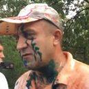 К дому убийцы 30 украинцев в Мариуполе, боевику «ДНР» Кирсанову, принесли гроб