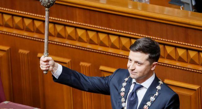 Сначала Зеленский планировал попасть в парламент, но затем переосмыслил свою роль - Лещенко