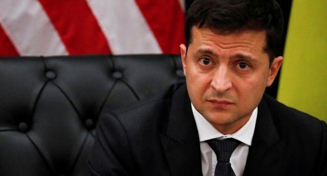 Владимир Зеленский собственной рукой вычеркнул Данилюка из списка делегации Украины в США