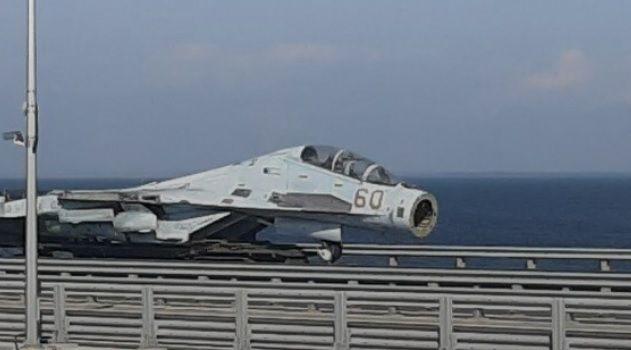 Путин перебросил реактивную авиацию через Керченский мост