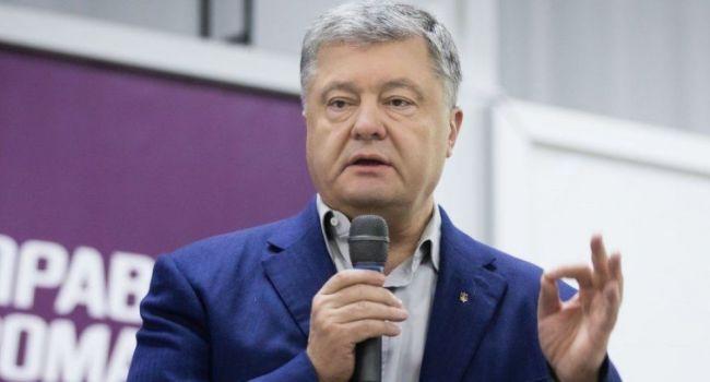 «Он «взорвался» в студии»: Порошенко поднял крик в прямом эфире из-за Минских соглашений