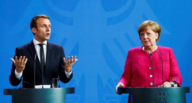Дипломат: Меркель и Макрон требуют прекратить наступление Турции в Сирии, а Эрдоган с Путиным, наверное, лопаются от смеха