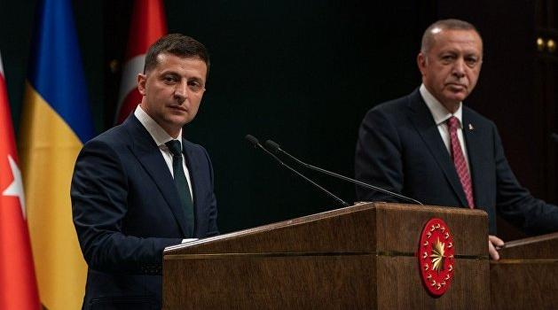 Президенты Украины и Турции договорились о сотрудничестве