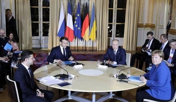 В Кремле рассказали о разговоре на «повышенных тонах» на саммите в Париже