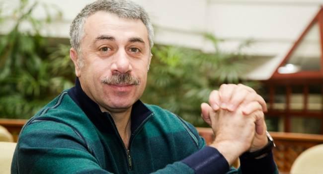 «Поезжайте на море»: Комаровский рассказал, как избавиться от насморка зимой