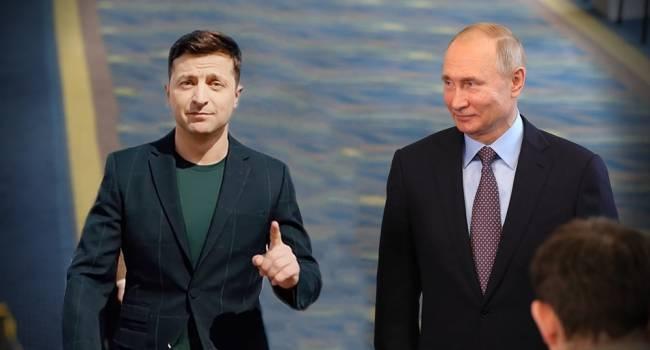 В Кремле рассказали детали разговора Путина и Зеленского