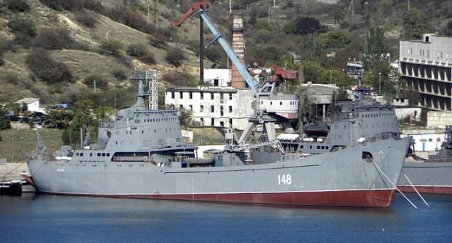 «Большой десантный корабль»: Черноморский флот России понес очередную потерю