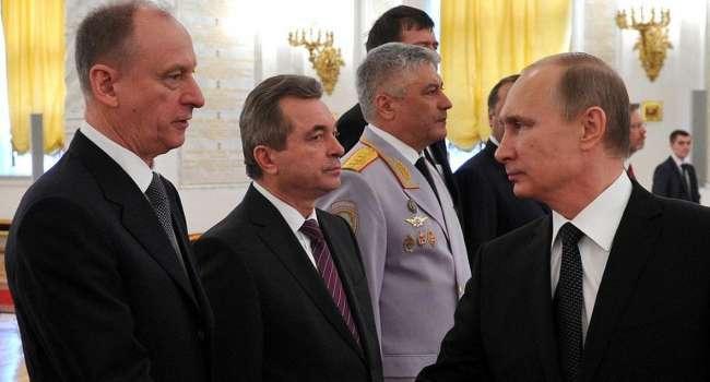 Перед разговором с Зеленским, Путин вызвал к себе Патрушева