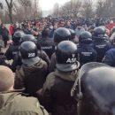 Ситуация в Новых Санжарах: Полиция работает в штатном режиме