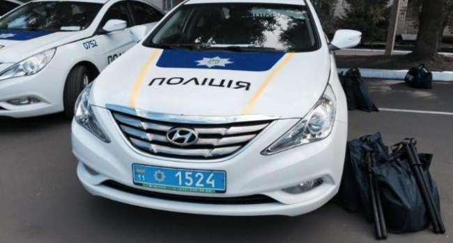ЧП в Полтавской области: Пьяный водитель избил полицейского и его машину