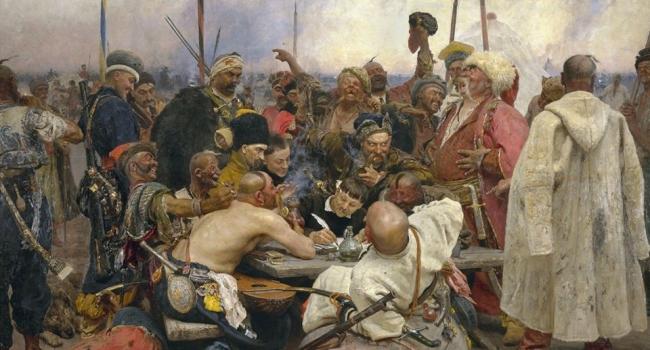 Историк: Репину этой своей картиной удалось полностью развеять множество имперских побрехонь на украинское казачество