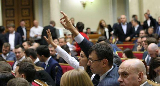Нардепы боятся собираться на заседание ВР для принятия законов по МВФ из-за коронавируса, но есть инсайд, что Коломойского они боятся больше