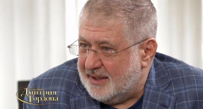 Блогер: Коломойский ошибся, когда думал, что самая трудная часть плана была – посадить на высокий трон своего президента
